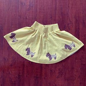 Matilda Jane Scottie Skirt, Girls Size 6